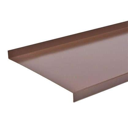 Отлив 200 мм цвет коричневый