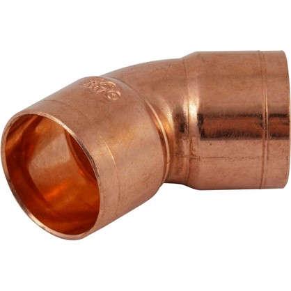 Отвод 45° Viega 22 мм внутреннее-внутреннее соединение медь