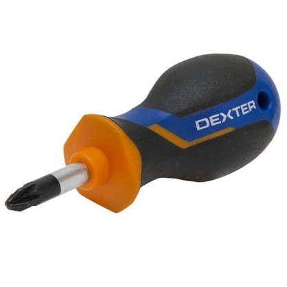 Отвертка крестовая Dexter PZ2x25 мм