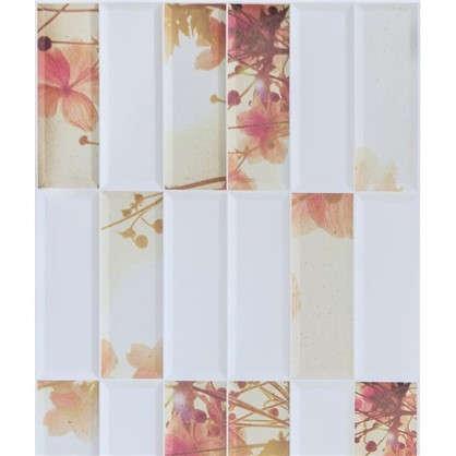 Панель ПВХ Цветы 955х480 мм 0.46 м2