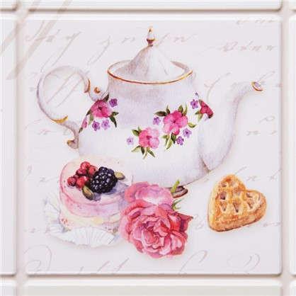 Панель ПВх Плитка чайная 902х601 мм 0.54 м²
