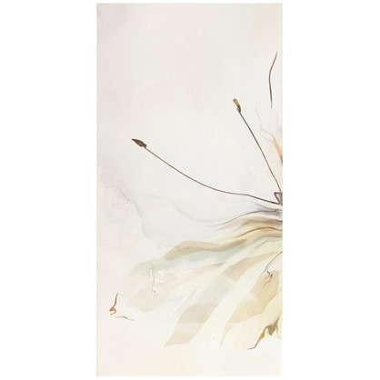 Панно Оникс Бабочка 1 25x50 см цвет салатный