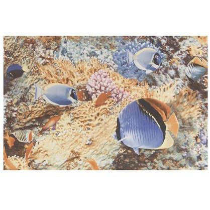 Панно Reef 40х60 см цвет синий