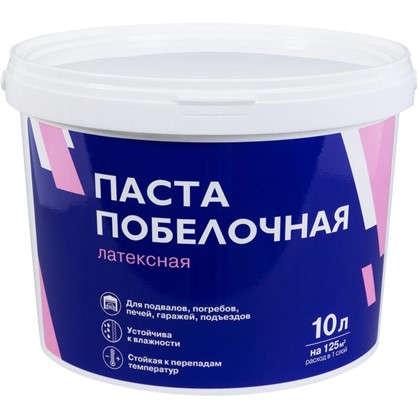 Паста побелочная латексная цвет белый 15.3 кг 10 л в