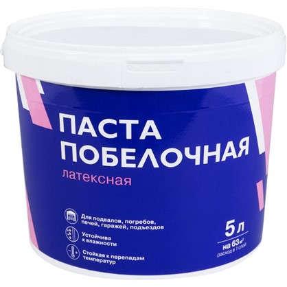 Паста побелочная латексная цвет белый 7.6 кг 5 л в
