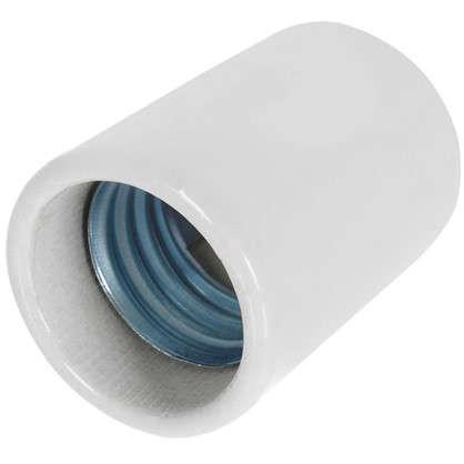 Патрон керамический E40 цвет белый