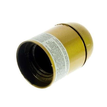 Патрон подвесной E27 цвет золотой