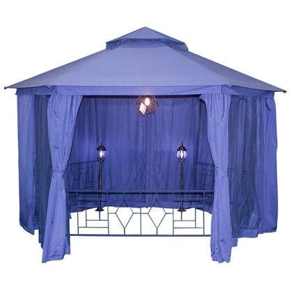 Павильон садовый Антрацит Нью 2x2 м антимоскитная сетка сталь