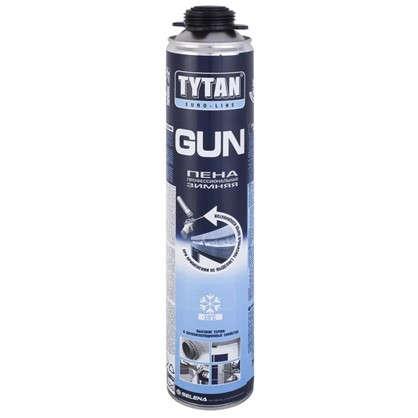 Пена монтажная пистолетная Tytan Euro-Line зима профессиональная 750 мл