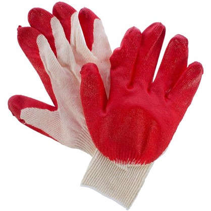 Перчатки х/б с ПВХ-обливкой 10 класс