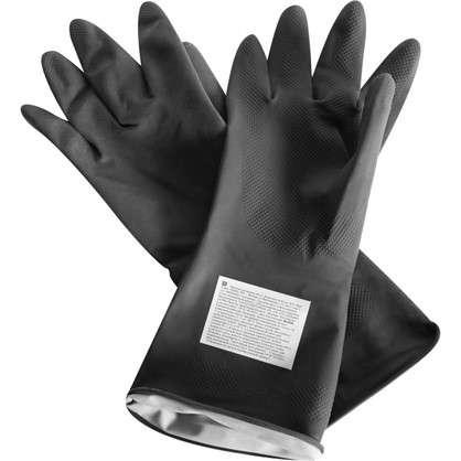 Перчатки садовые для работы с ядохимикатами размер 8-10