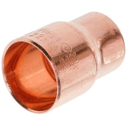 Переходник Viega 22х18 мм внутреннее-внутреннее соединение медь