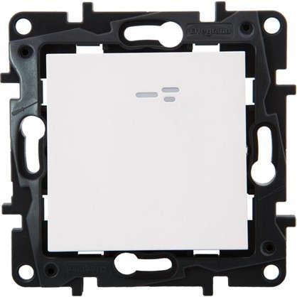 Переключатель Legrand Structura 1 клавиша с подсветкой цвет белый