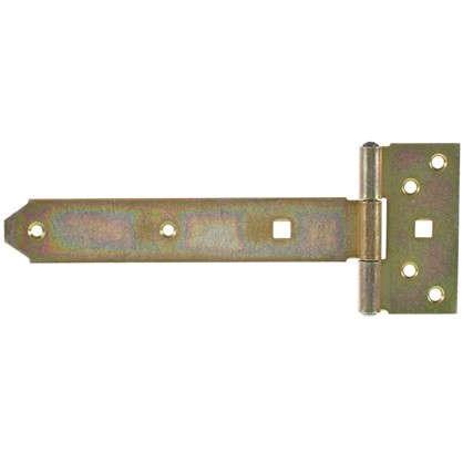 Петля воротная T-образная оцинкованная 192/45x90/34 мм
