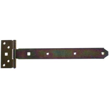 Петля воротная T-образная оцинкованная 293/45x90/34 мм