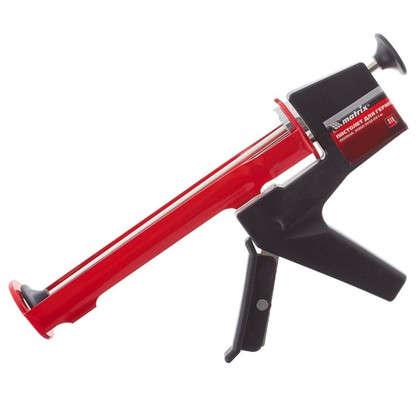 Пистолет для герметика полуоткрытый корпус с противовесом