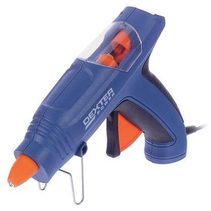 Пистолет клеевой Dexter Power 200 Вт для стержней 11 мм комплект 12 стержней