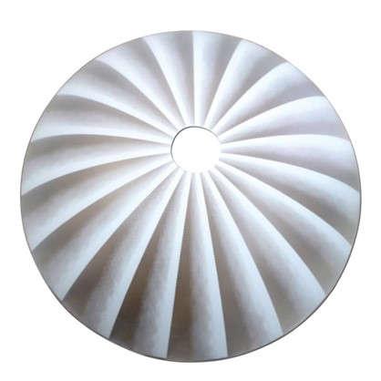 Плафон для подвеса Ассоль цвет белый