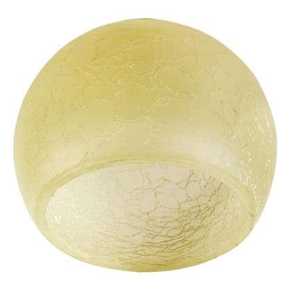 Плафон Сфера E14 цвет прозрачный/шампань