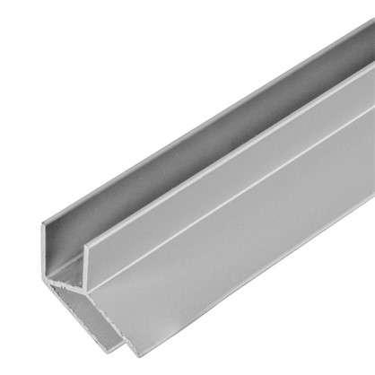 Планка для стеновой панели угловая 60х1.8х0.6 см алюминий