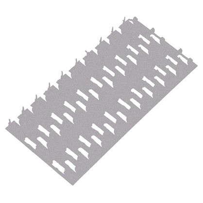 Пластина гвоздевая 132х60х1 мм сталь