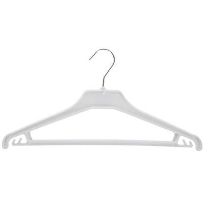 Плечики для легкой одежды 42 см цвет белый