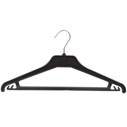 Плечики для легкой одежды 42 см цвет черный
