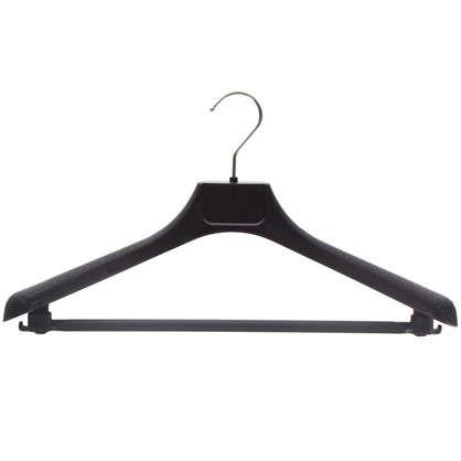 Плечики универсальные 42 см цвет черный