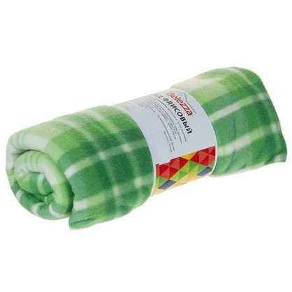 Плед Basic 130х170 см флис цвет зеленый