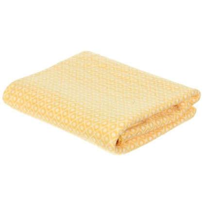 Плед флисовый Play 130х170 см цвет желтый