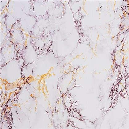 Пленка самоклеящаяся 3960 0.45х8 м мрамор цвет серебристый/бежевый