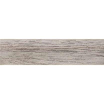 Плинтус напольный Королевский Белый ПВХ 47 мм 2.5 м цвет белый
