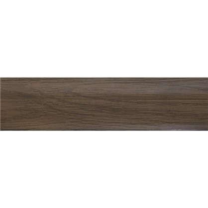 Плинтус напольный ПВХ 47 мм 2.5 м цвет осина обыкновенная