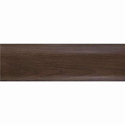 Плинтус напольный ПВХ 55 мм 2.5 м цвет орех канадский