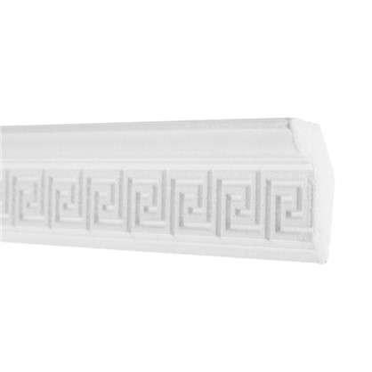 Потолочный плинтус 20006059 200х6 см цвет белый