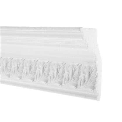 Потолочный плинтус 20011529 200х11.5 см цвет белый