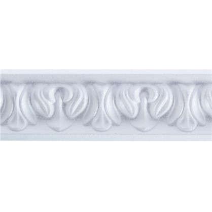 Потолочный плинтус C121/45 200х3 см цвет белый