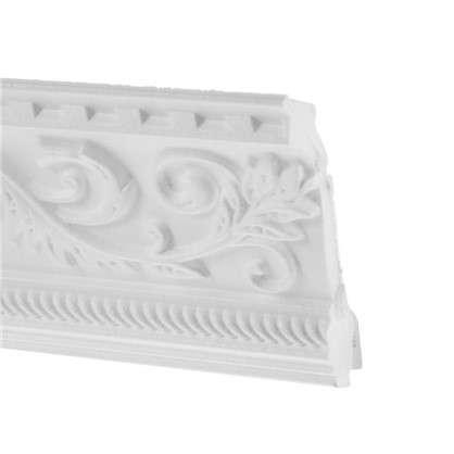 Потолочный плинтус C628/130 200х10 см цвет белый