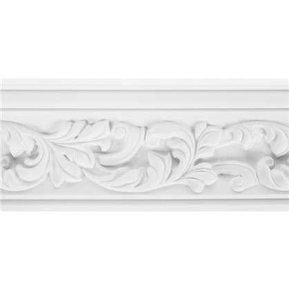 Потолочный плинтус Decomaster  95775 полиуретан 70х70х2000 мм цвет белый
