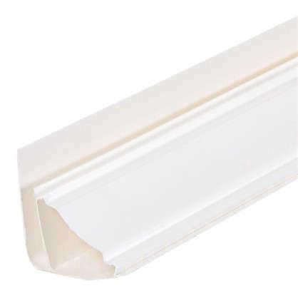 Плинтус ПВХ потолочный для панелей 5 мм 3000 мм цвет белый