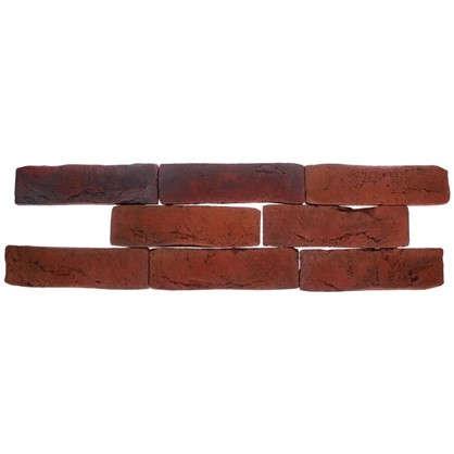 Плитка декоративная Лондон Брик цвет коричневый