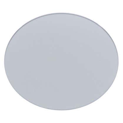 Плитка декоративная зеркальная Круг цвет графит