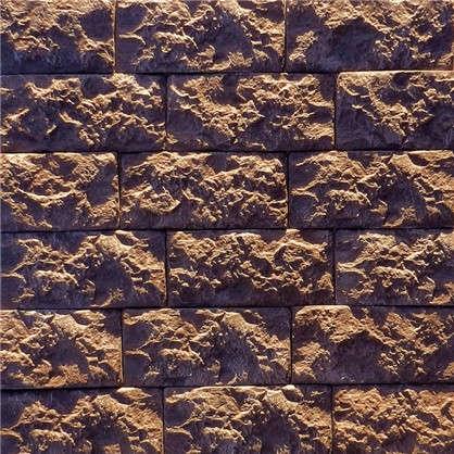 Плитка Доломит цвет шоколадно-коричневый