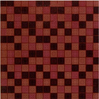 Напольная плитка Arabesque 33х33 см 1.17 м2 цвет коричневый