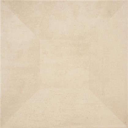 Плитка напольная Loft Деко 42x42 см 1.41 м2 цвет бежевый