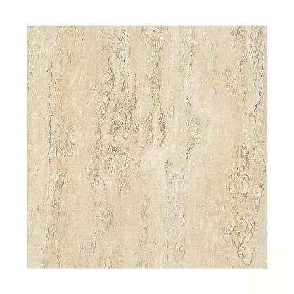 Напольная плитка Травертин 30х30 см 1.37 м2 цвет белый