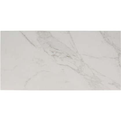 Плитка настенная Marble 30х60 см 1.62 м² цвет белый