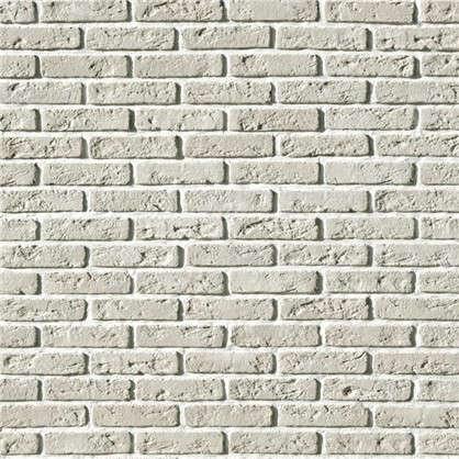 Плитка облицовочная Эллин Брик цвет белый 1.1 м2