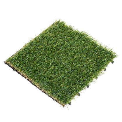 Плитка садовая Искусственная трава 40х40х2 см