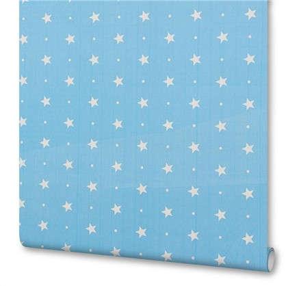 Пленка самоклеящаяся Голубые звездочки 045х2 м